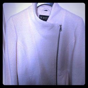 Guess wool blend new dress coat xl